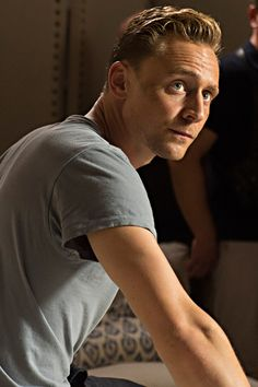 """""""OK... let's go, dream boy."""" (Full size image: http://tomhiddleston.us/gallery/albums/tv/thenightmanager/stills/1x03/009.jpg) (Source: http://tomhiddleston.us/gallery/thumbnails.php?album=658 )"""