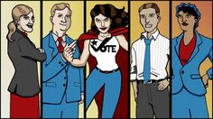 Illustrations by Brandon Dawley. Animation by Craig Shields for SEIU voting promo call-to-action.