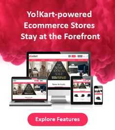 Yo!Kart is highly customizable as well as offer good out of the box ecommerce features that can help you to create online store. It is also optimized from an SEO perspective.