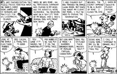 Calvin And Hobbes and classical music. From Mar 2, 1991 and Jun 27, 1992.