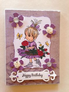 Happy birthday card Handmade card