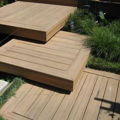 Steps down from the deck to lawn? Did wonder about extending them to the pool via a bridge/ walkway depending on where pool is sited. Wouldn't want to compromise lawn space though