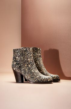 Leopard printed ankle boots from ESCADA SPORT F/W 2013