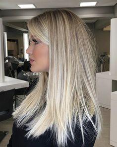 Love Hair, Great Hair, Gorgeous Hair, Cool Blonde Hair, Blonde Hair With Highlights, Corte Y Color, Hair Color And Cut, Hair Affair, Hair Dos