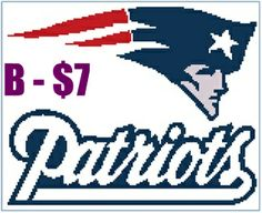 New England Patriots Crochet Afghan Pattern Free : Buy New England Patriots NFL - Afghan Crochet Graph ...