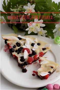 kuningatar kinder piirakka Make It Yourself, Ethnic Recipes, Food, Kids, Essen, Meals, Yemek, Eten