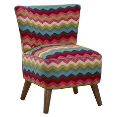 Omni Side Chair in Rust... love the POP of color in this chair!!!