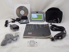 """TomTom GO 510 4"""" GPS & Accessories No Vehicle Mount Fully Tested Bundle #TomTom"""