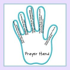 Prayer Hands... beginning of year CCC / BFG activity... tie in with June Calgary flooding... (what do you think Tesha?) ***** September 2013 BFG Lesson...