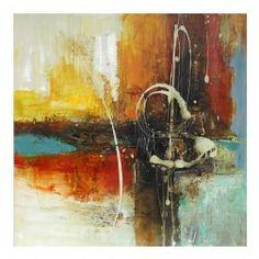 Cuadros Modernos Abstractos, díptico lienzo pintura al óleo. Cuadros y Pinturas en Nuryba.com tu tienda decoracion de interiores online