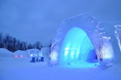igloo - I would love the experience!