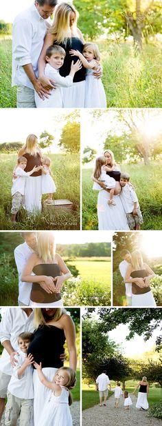 Spring Family Picture Ideas: Beautiful Maternity & Precious Newborns