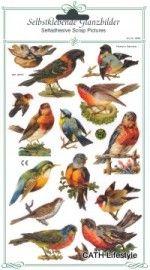 ME 8087 Poezie plaatjes vogels