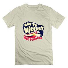 03f86922b1306d Kele Mac Demarco Ode To Viceroy Pattern Men s T Shirt Xl