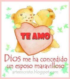 Te amo #esposo
