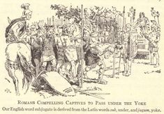 Roman Captives Passing Under The Yoke