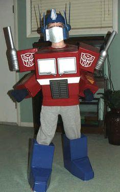 Optimus Prime Transformer costume