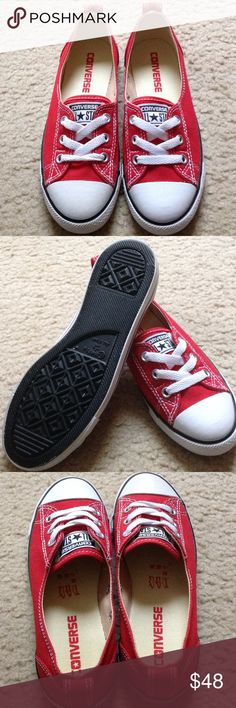 Converse ballet lace The retro styling of this red Converse Chuck Taylor All Star sneaker will never go out of style . A lightweight, feminine design. Slip on dainty ballet low top sneaker into your casual wardrobe and make it your own. Converse Shoes Sneakers