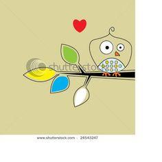 Chapman Place: I love Retro Birds