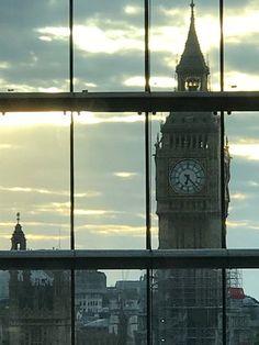 The Big Ben, London.-