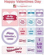 FREE Valentines Day Sticker Pack on http://hunt4freebies.com