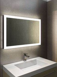 Genial Mirrored Lights For Bathrooms   Bathroom Mirrors Are A Great Way To  Complete Your Room. You Need To Evaluate The Dimensions Of Your Bathroom, A  A Method Th