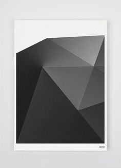 Graphics we like / Shading / Black / Lines / Sculptural / Print / at leManoosh