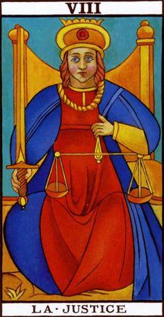 #Tarot #Marsella La Justicia