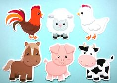 Cowboy birthday, birthday party themes, cowgirl party, farm yard, down on t Party Animals, Farm Animal Party, Farm Animal Birthday, Felt Animals, Farm Birthday Cakes, 2 Birthday, Cowboy Birthday, Birthday Party Themes, Farm Themed Party