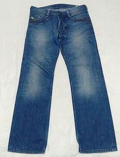 1e1b249a2ae59 Diesel Timmen Men s Jeans Waist W32 Leg L30 Blue Denim Studed pocket detail  Men s Jeans,