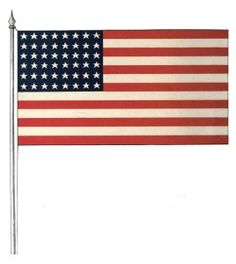 clip art american flag