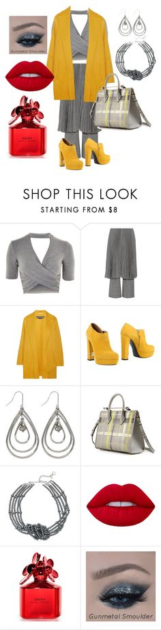"""""""I'm Likin This"""" by gigiglow ❤ liked on Polyvore featuring Topshop, Facetasm, Rochas, R&Renzi, M&Co, Strathberry, Simply Vera, Lime Crime and Marc Jacobs"""