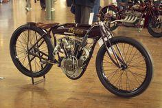 An original 1920's 'Murderdrome' racer, this Indian Altoona 8 valve
