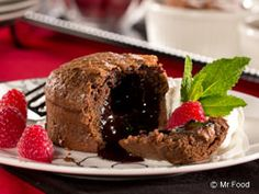Chocolate Lava Cakes - Rich, decadent, and oh-so-good
