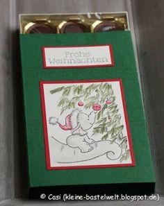 Kerstin's kleine Bastelwelt: Weihnachtsmarkt-Countdown: Toffifee-Boxen, Wild Rose Studio, First Christmas