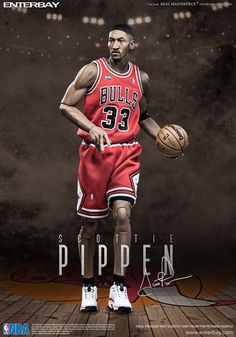 Features: -2 head sculpts of museum-like representation of Scottie Pippen with authentic likeness, one defencing head sculpt and one regular (iconic) facial expression including. -The head sculpts are