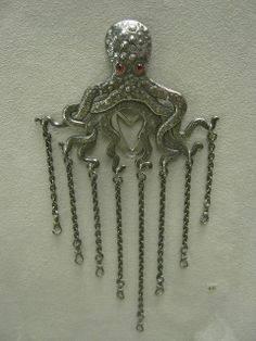 Chatelaine.Gorham Manufacturing Company; Providence, Rhode Island, 1887 Early Art Nouveau Museum