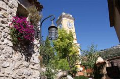 Eze Village, France French Riviera, Big Ben, Tower, France, Vacation, Cityscapes, Street, Building, Clocks