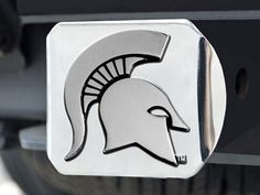 "Michigan State Hitch Cover 4 1/2""x3 3/8"""