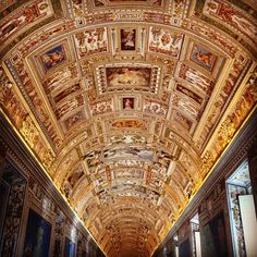 Map Room at the Vatican