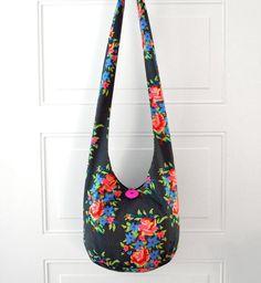 Hobo Bag Crossbody Bag Hippie Purse Sling Bag Hobo by 2LeftHandz