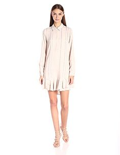 BCBGMax Azria Women's Peggy Woven City Dress, Dusk Combo, XS. Front button closures. Shadow plaid print. Hits above the knee. Lightweight, non-stretch fabric. True to fit.