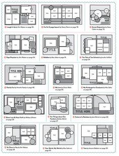 croquis de page - New Ideas Couple Scrapbook, Scrapbook Journal, Baby Scrapbook, Scrapbook Pages, Scrapbook Layout Sketches, Scrapbook Templates, Scrapbook Designs, Photo Album Scrapbooking, Scrapbooking Layouts
