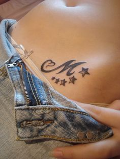 M With Stars Tattoo Photo:  This Photo was uploaded by Timea_ft. Find other M With Stars Tattoo pictures and photos or upload your own with Photobucket f...