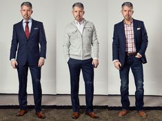 3 Different Ways To Wear Your Suit ~ 40 Over Fashion