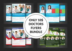Health & Medical Flyer Bundle by AfzaalGraphics on Creative Market