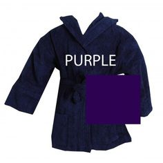 Turkish #Kids Hooded Terrycloth #Purple #Robe  #bathrobeshoppe http://www.bathrobeshoppe.com/