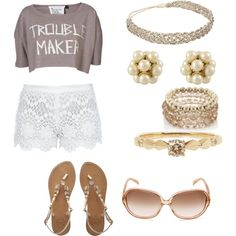 Summer, created by xtamm on Polyvore