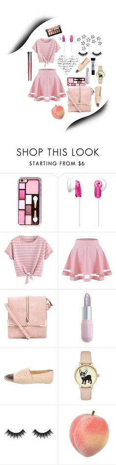 """""""Untitled #132"""" by aluin ❤ liked on Polyvore featuring Sony, Winky Lux, Chanel, Morphe and Smashbox"""