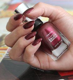 Sally Hansen Complete Salon Manicure Nail Enamel Wine Not